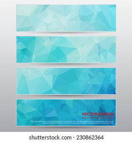 The Vector Work, Abstract Header for Design and Creative Work