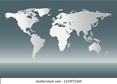 World globe images stock photos vectors shutterstock vector of world map gumiabroncs Choice Image