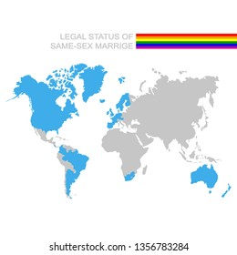 Best Marriage Equality World Map Galleries - Printable Map - New ...