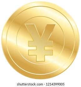 vector yen money illustration isolated, investment business finance icon