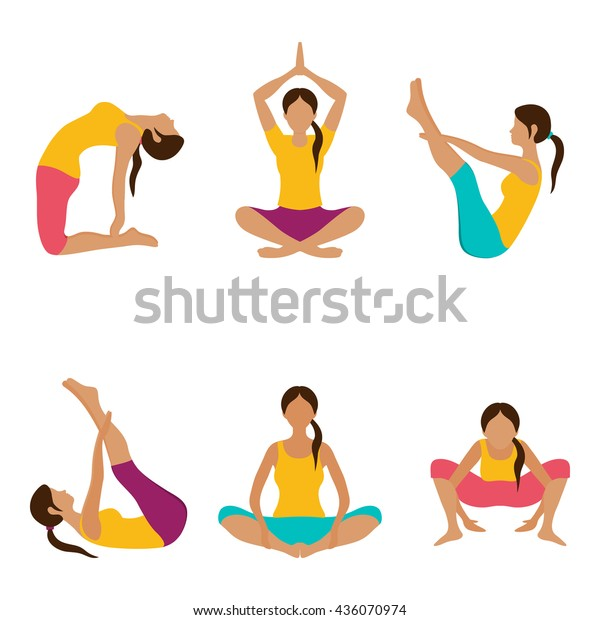 Vector De Stock Libre De Regalias Sobre Vector Yoga Illustration Yoga Set Yoga436070974 Nosotros los guapos is a mexican sitcom that premiered on blim on august 19, 2016. https www shutterstock com es image vector vector yoga illustration set exercises women 436070974