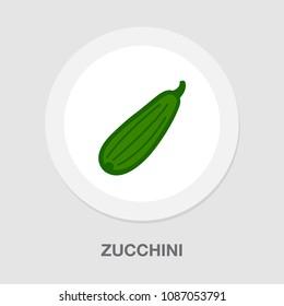 vector Zucchini vegetable illustration? vegetarian diet