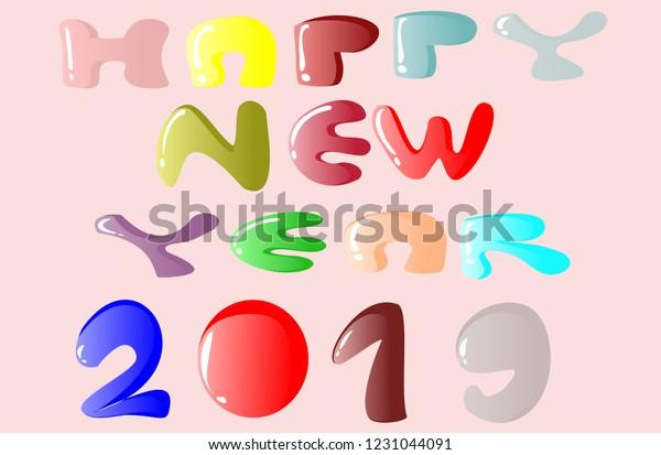 Happy New Year Flat Design 43