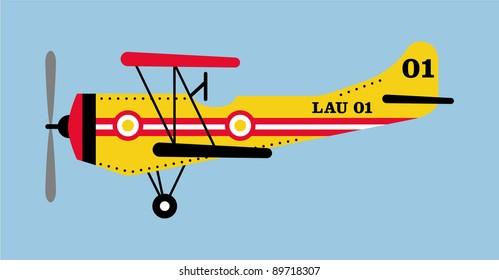vectorized plane