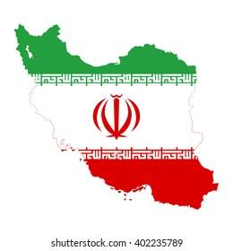 vectors Map of Iran