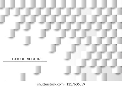 vecture square shape lihgt and shadow