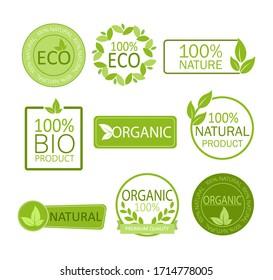 Vegan emblem. Round logo. Vector logo. Natural product. Natural leaf icon. Vegan emblem. Healthy fresh nutrition. Healthy lifestyle.