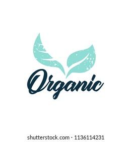 Vegan logos, badges. bio, healthy food badges. Vector illustration.