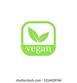 Vegan Vector Icon