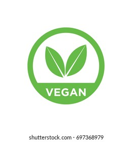 Vegan vector icon.