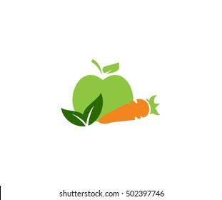 Vegetable logo