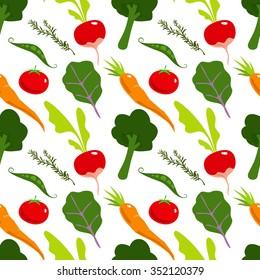 Vegetable Pattern
