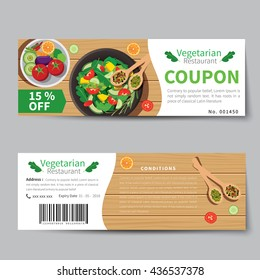 Meal voucher images stock photos vectors shutterstock for Free meal coupon template