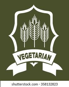vegetarian food menu design