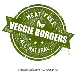 Veggie Burgers Stamp