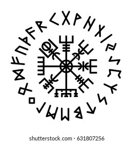 Vegvisir. Rune