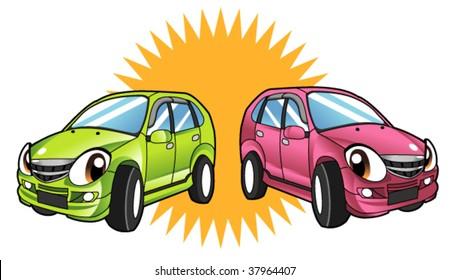 vehicle character