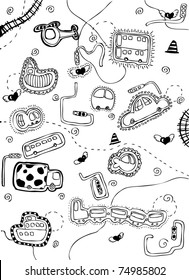 Vehicle Doodle