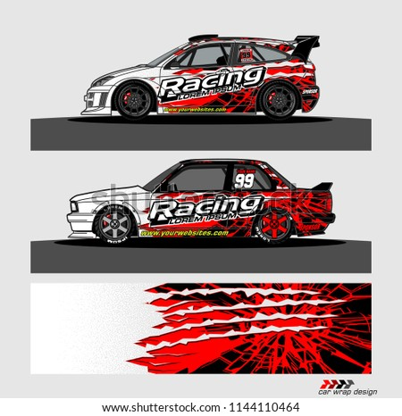 c9079524fd vehicle livery graphic vector. abstract grunge background design for vehicle  vinyl wrap and car branding