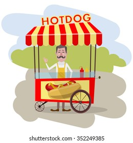 vendor hot-dogs