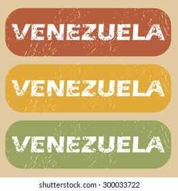 Venezuela colored background