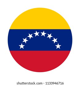 Venezuela Flag Button
