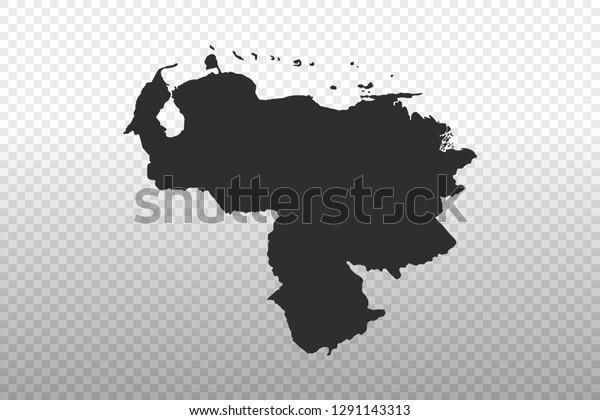 Venezuela Map World Map International Vector Stock Vector ...