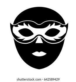 venice mask icon
