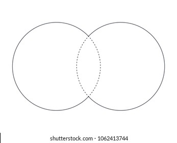 Venn diagram images stock photos vectors shutterstock venn diagram illustration for scrapbook flyers posters web greeting cards science ccuart Images