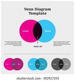 Venn Diagram Template Design