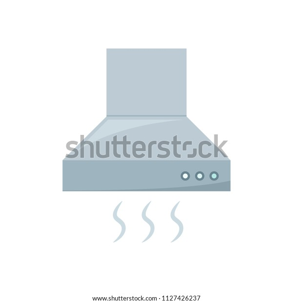 Vent Hood Icon Clipart Image Isolated Stock Vector Royalty Free 1127426237