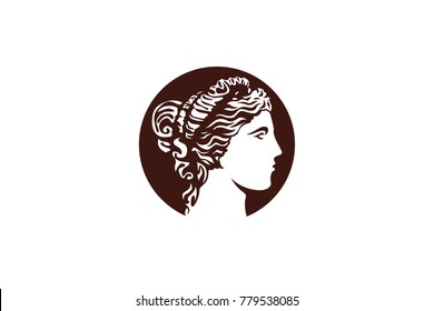 Venus head vector