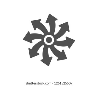 Versatile icon. Multifunction sign. Quality design element. Classic style icon. Vector