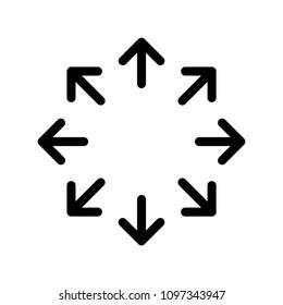 Versatile icon, vector illustration