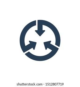 Versatile, vector icon, isolated on white background.