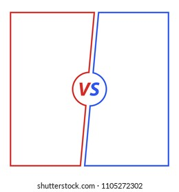Versus Background illustration