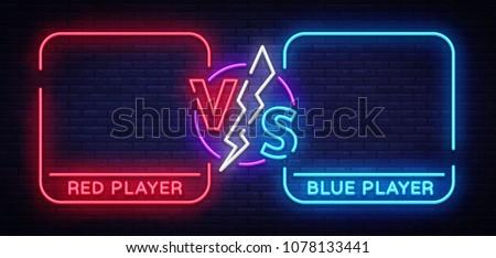 Versus screen design in