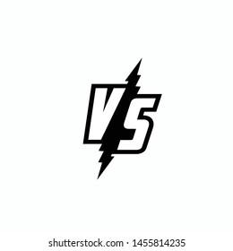 Versus Or VS Letters Logo Design Inspiration