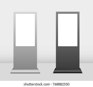 Vertical blank outdoor Lightbox