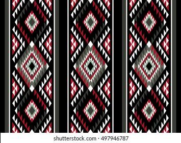 Vertical Classic Sadu Pattern Motif