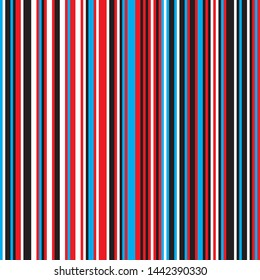 Vertical colored stripes seamless pattern