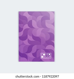 vertical cover template a 4 a 5 wavy stock vector royalty free