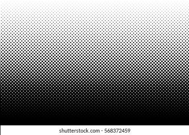 Vertical gradient halftone dots background. Pop art template, texture. Vector illustration
