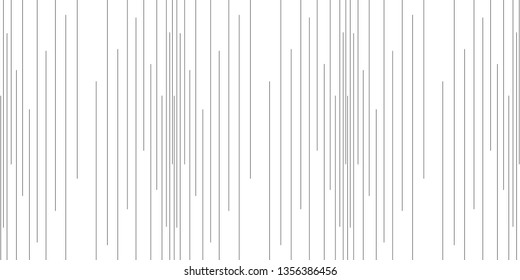 Vertical line pattern vector. Design random stripe black on white background. Design print for illustration, textile, wallpaper, background. Set 1