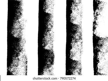 Vertical paint stripes