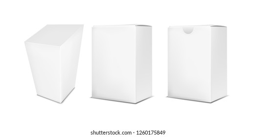 Vertical paper box.