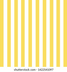 vertical stripe pattern. Yellow and white vector design background