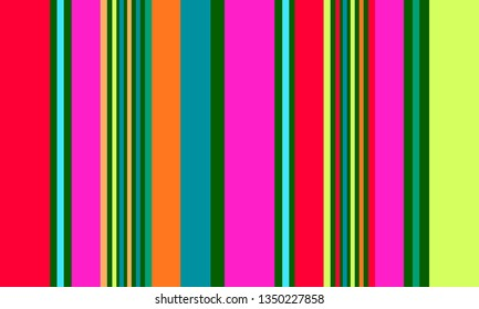 Vertical Stripes Background, Striped Pattern, Multicolor