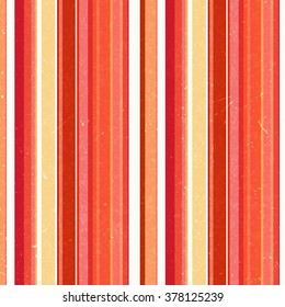 Vertical stripes pattern, seamless texture background. Ideal for printing onto fabric and paper or decoration. Red, orange, white colors.