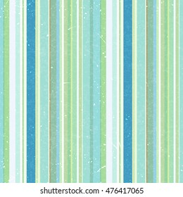 Vertical stripes pattern, seamless texture background. Ideal for printing onto fabric and paper or decoration. Green, white, blue colors.